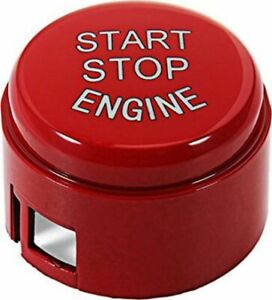 BMW RED START STOP BUTTON COVER 1 3 4 5 6 7 X F SERIES WITHOUT OFF F30 F10 F20