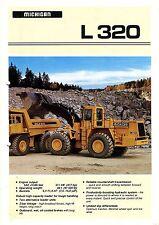 Michigan L320 wheel loader brochure