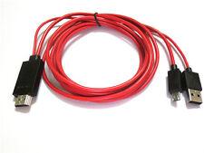 "MHL USB 1080P HDMI HD TV AV Cable Adapter For Samsung Galaxy Tab 4 SM-T531 10"""