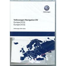 VW Discover Pro Navigation DV Genuine Maps UK GB Europe Sat Nav SD Card 2019 V15