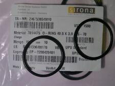Sirona Siemens O-Ring 40x3-S-70 REF: 7014475 (M1/E Unterteil Abscheideautomatik)
