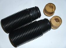 Rear Suspension Dust boot Gaitors & Bump Stops Pair New Toyota MR2 mk1 1.6L AW11