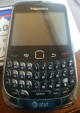Blackberry Curve 3G 9300 - Graphite gray (AT&T) Great working condition!