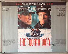 Cinema Poster: FOURTH WAR, THE 1990 (Quad) Roy Scheider Jürgen Prochnow Tim Reid