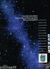 Publicité advertising 2000 Le Gaz Butagaz Le cube