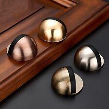 Stainless Steel Rubber Door Stopper Holders Floor Mounted Nail-free Door Stops