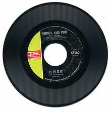 Cher - Bang Bang (My Baby Shot Me Down) / Needles And Pins (1966 Imperial) 66160