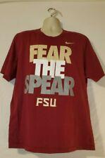 Nike Men's FSU Seminoles Florida State University Fear The Spear T-Shirt 2XL
