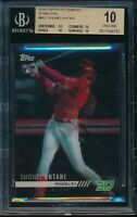 2018 Topps On Demand 3D Shohei Ohtani RC BGS 10 Pristine SP Motion Insert Rookie