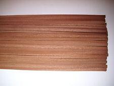 30 Holzleisten Mahagoni  1000 x 10 x 0,6 mm