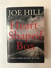 Heart-Shaped Box Joe Hill 2007 Hardback First Edition Good Cond. Oz Seller