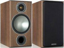 Monitor Audio Bronze 2 Speakers PAIR Walnut Bookshelf Loudspeakers Biwire AWARD