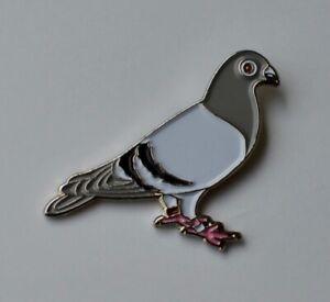 Pigeon Racing Pigeon Quality Enamel Pin Badge
