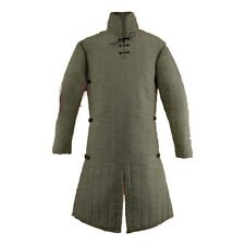 Thick padded Medieval Jacket Gambeson coat Costumes Dress Sca
