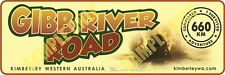 The Gibb River Road 660km Bumper Sticker