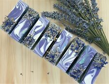 Natural Soap Bar Lavender Glycerine Handmade With Shea Butter And Essential oils