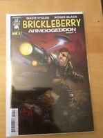 BRICKLEBERRY 1 ARMOOGEDDON, NM 9.4, 1ST PRINT, DYNAMITE, REGULAR COVER