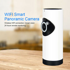 HD Wireless Security IP 180  Degree Camera Wi-fi  Night Vision Audio Recording