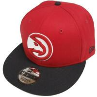 New Era NBA Falchi di Atlanta Snapback Logo Squadra Cap 9fifty 950 Basecap S/M S