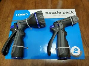 2 Pack Lawn Garden Watering Hose Nozzles ORBIT - NEW - FREE Shipping!