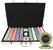 1000 14G ECLIPSE CASINO TABLE CLAY POKER CHIPS SET