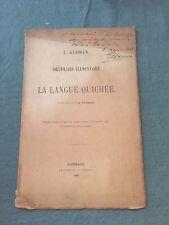 Grammaire élémentaire - La langue Quichée - A. Blomme - Aleman L.  - B7