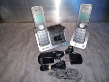 AT&T CL82351 DECT 6.0 Cordless Phone System w/ 2 Handsets W/ AC ADAPTER AND CORD