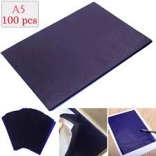 100x feuilles de papier carbone dupliquées calque art copie papier calque