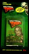 Topps HOLLYWOOD ZOMBIES Blister Pack Trading Cards like Wacky Packages