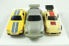 Yellow Martini Silver Buddy L Lanard Toys Porsche 911 Carrera Model Car Lot