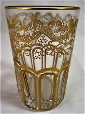gobelet verre à thé CRISTAL DE ST LOUIS  Rabat  réf A