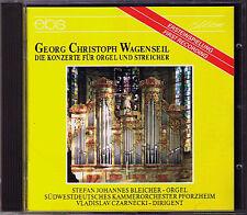 WAGENSEIL 1715-1777 Five Organ Concerto Stefan Johannes BLEICHER Janos ROLLA CD