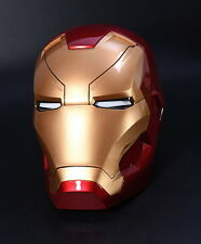 New CATTOYS 1:1 Iron Man MK46 LED Helmet Replica WITH LED MANUAL OPEN CLOSE VER