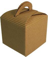 10 x recyclé carte faveur boîtes, mariages, cadeau anniversaire treats