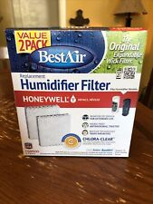 Best Air Hw600 2 Pack Chlora Clear Humidifier Filter For Honeywell Hev615,.