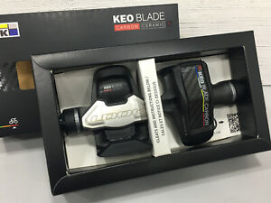LOOK Keo Blade Carbon Ceramic Ti 12/16Nm Road Clipless Pedals 2019 (Black)