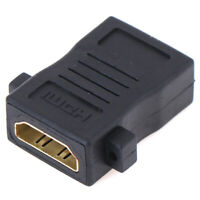 HDMI Female to Female Panel Mount Extension Coupler Adapter Connec X