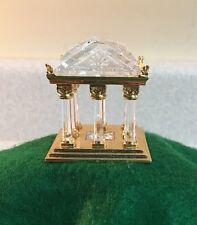 "Swarovski Crystal Memories Journeys ""Greek Temple"" Retired 2003"