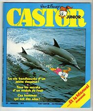 ► MENSUEL CASTORS JUNIORS N°4 - 1978  - CHANTAL GOYA - TBE