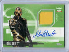 2017 TOPPS UNDISPUTED WWE GOLDUST UAR-GO SHIRT RELIC AUTOGRAPH AUTO GREEN /25