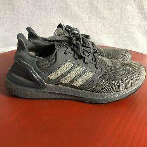 Adidas UltraBoost 20 Men's Size 8 Running Shoes Gray Athletic Trainer Sneakers