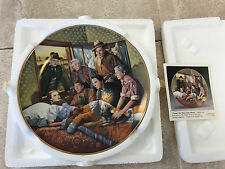 Bradford Exchange 1993 Wizard of Oz Collection Plate #8 No Place Like Home-Laslo