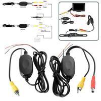 Monitor CCD Einparkhilfe Funk Auto Rückfahrkamera 170° Rückfahrsystem E5S4