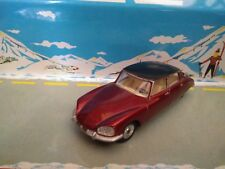 DINKY TOYS SPAIN 530 CITROEN DS23 RED METALLIC / BLACK ROOF 1:43