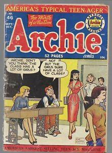 Archie Comics #46 Archie Golden Age Comic Book 1950