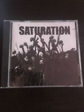Saturation CD dropdead ire black hand hardcore punk disrupt