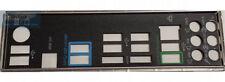 ASUS I/O IO SHIELD BLENDE BRACKET M5A99X EVO R2.0 NEU/NEW