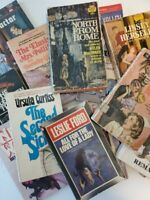 Lot of 14 Vintage Paperback - Pulp Fiction, Mystery and Thrillers