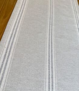 TABLE RUNNER  made in Susie Watson Gustavian Grey fabric  1 mtr  x 42 cms