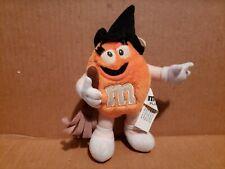M&M Advertising Plush Orange Witch Halloween M&M 1997 Lot#16